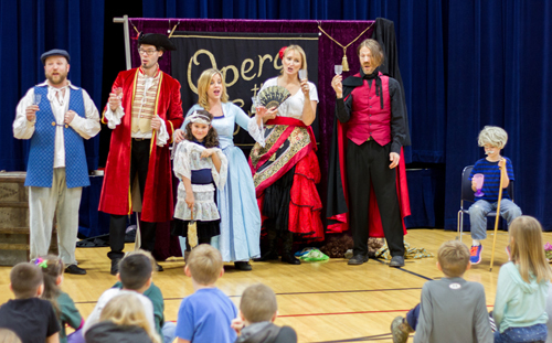 "Visiting opera performers teach Yale Elementary students opera with ""Opera the Great"""