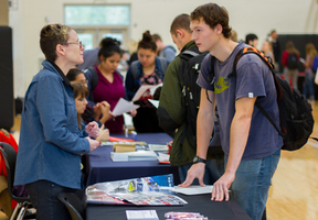 Woodland High School hosts its first-ever College Fair to help students discover opportunities for life after graduation