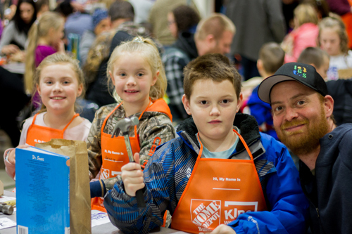 Woodland Intermediate School partners with Home Depot to motivate kids to read