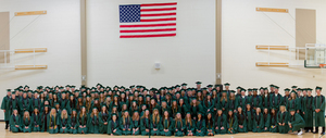 Woodland Public Schools celebrated its largest graduating class, the Class of 2018, on Friday, June 15