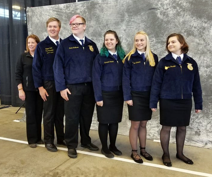 Woodland High School's Floriculture Team places eighth in national FFA competition