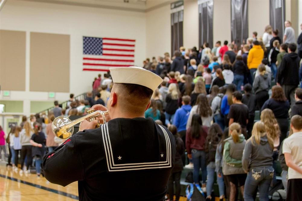 Woodland students remember and honor the country's veterans