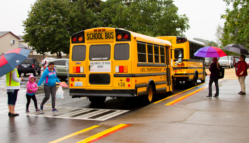 The KWRL Transportation Cooperative drives more than one million miles each year to get students to and from school safely