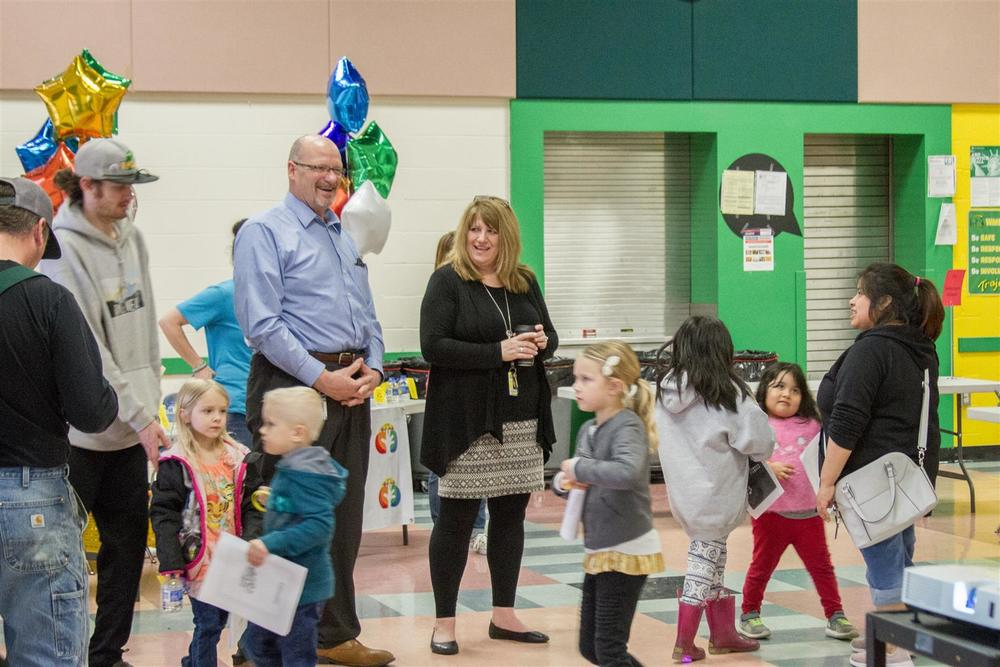 Woodland Public Schools held its Kindergarten Kickoff on Tuesday, April 16, 2019!