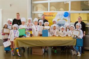 Woodland elementary students cooked their favorite Mexican recipes to compete in Future Chefs of America