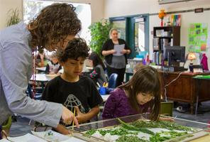 Students in Woodland's Lewis River Academy learn by doing with hands-on activities and guest lecturers