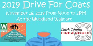 Donate a coat, get a free ride on a fire truck!