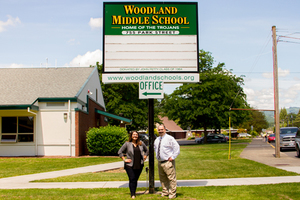Woodland Middle School Open Conferences October 30-November 1
