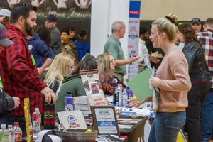 69 Businesses at Career Explorations Fair show WHS students career possibilities