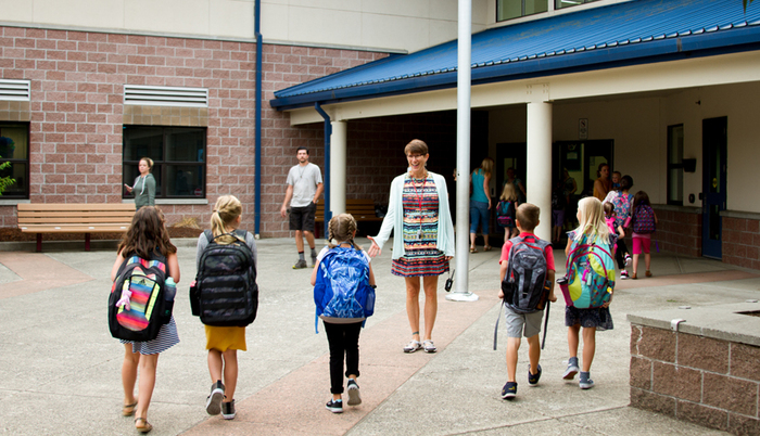 Learn how Woodland Public Schools keeps students and staff safe