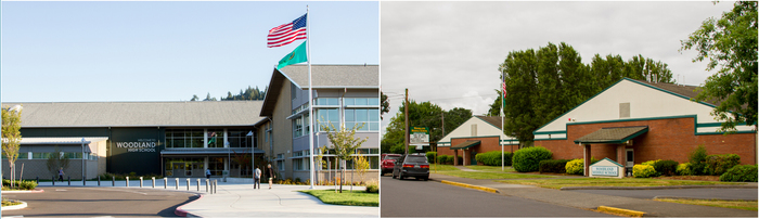 Woodland High School and Woodland Middle School