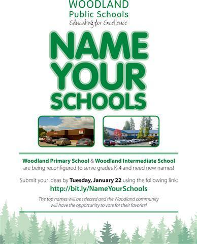 Name Your Schools by Tuesday, January 22, 2019