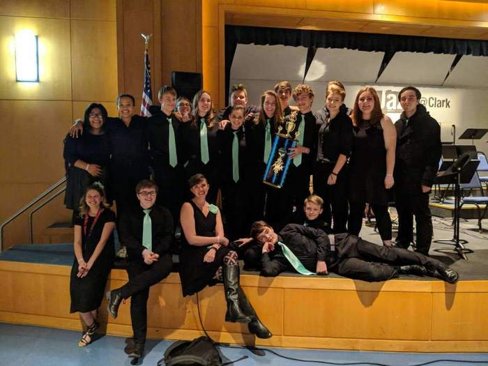 WPS Jazz Ensemble takes first place at Clark College Jazz Festival