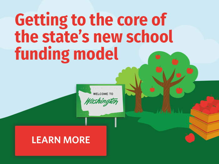 Learn more about how Washington State's new school funding model works