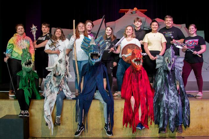 "WHS Drama presents ""She Kills Monsters"""