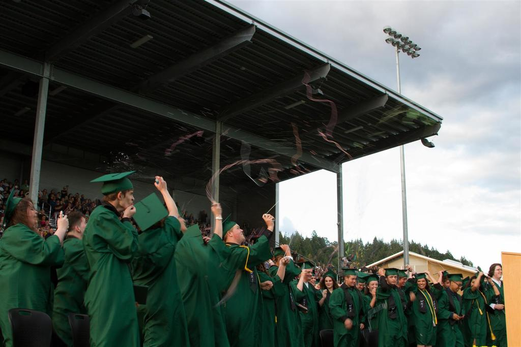 Woodland High School Commencement 2018
