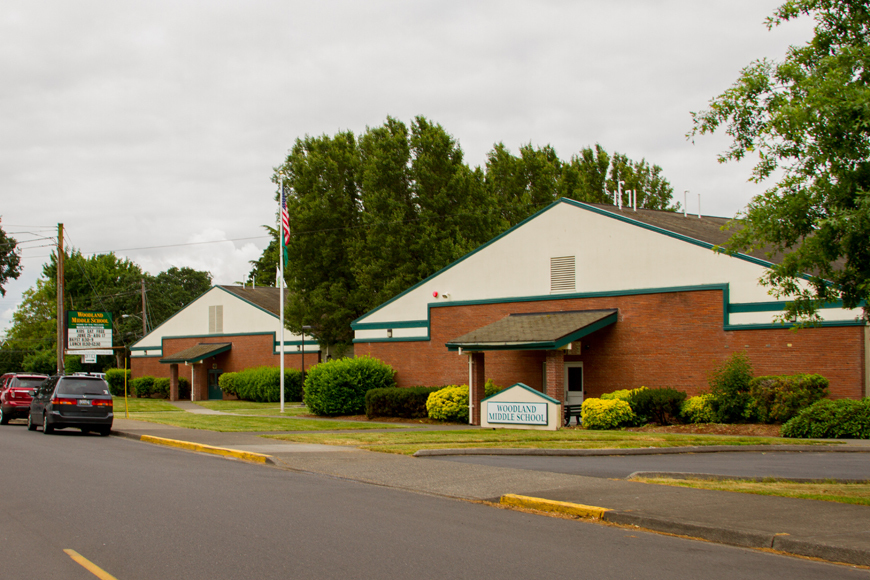 Woodland Middle School in Woodland, WA