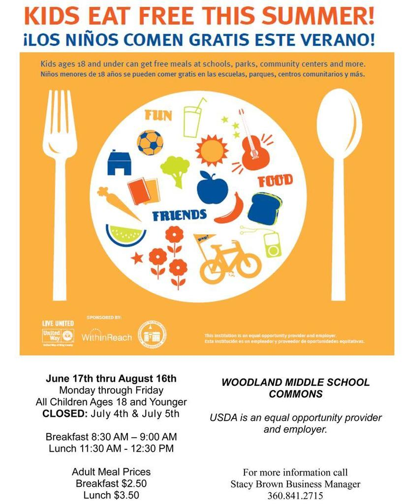 Woodland Public Schools offers free breakfast and lunch over the summer to students in need, and this year local church volunteers are delivering lunches to students with transportation issues.