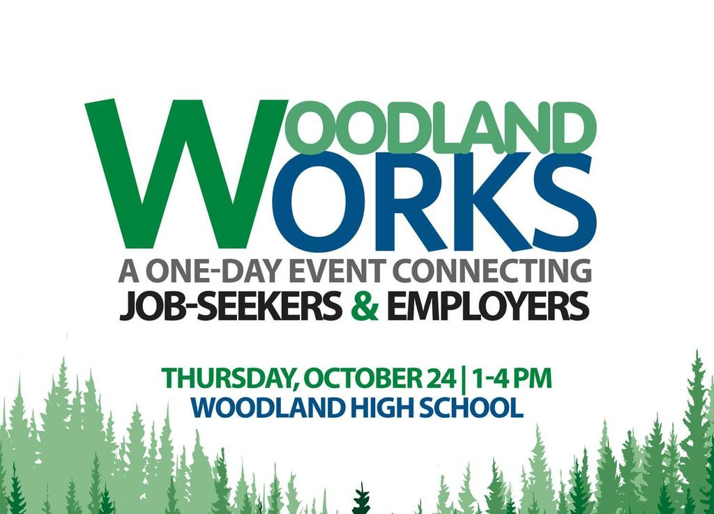 Woodland Works is a one-day job fair resulting from an ongoing partnership between Woodland Public Schools and The Port of Woodland