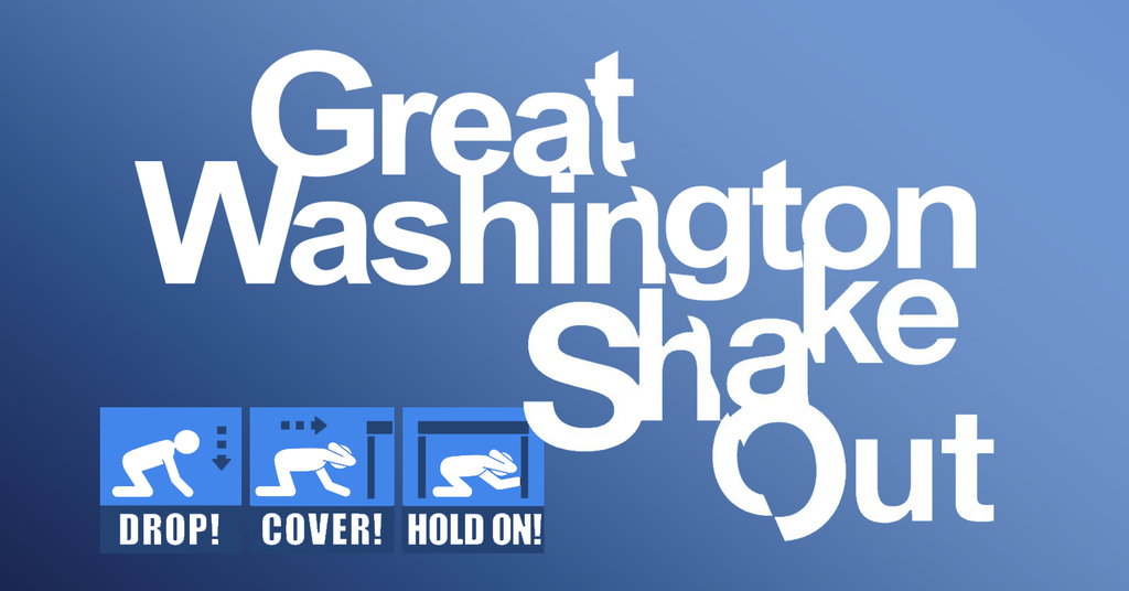 The Great Washington ShakeOut