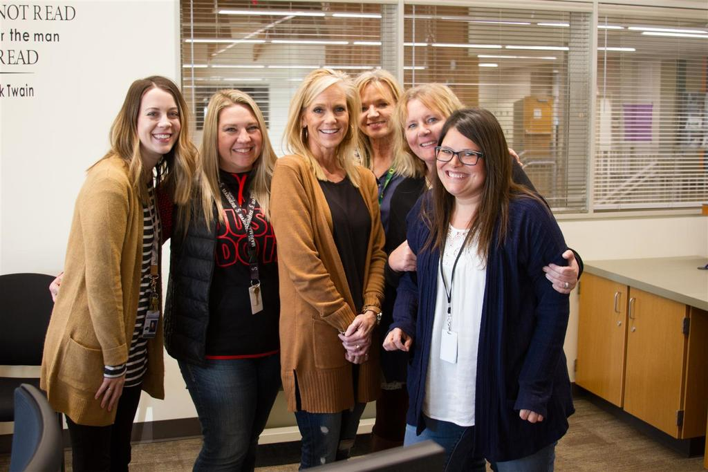The PASS Team (from left to right): Catherine Pulliam, Keitra Curnutt, Cyndy Grayson, Mary Ann Sturdivan, Dana Preston, and Stacy Gould