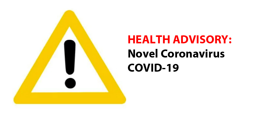 Superintendent Michael Green of Woodland Public Schools sent a letter home with a health advisory on COVID-19, the Novel Coronavirus, on March 2, 2020