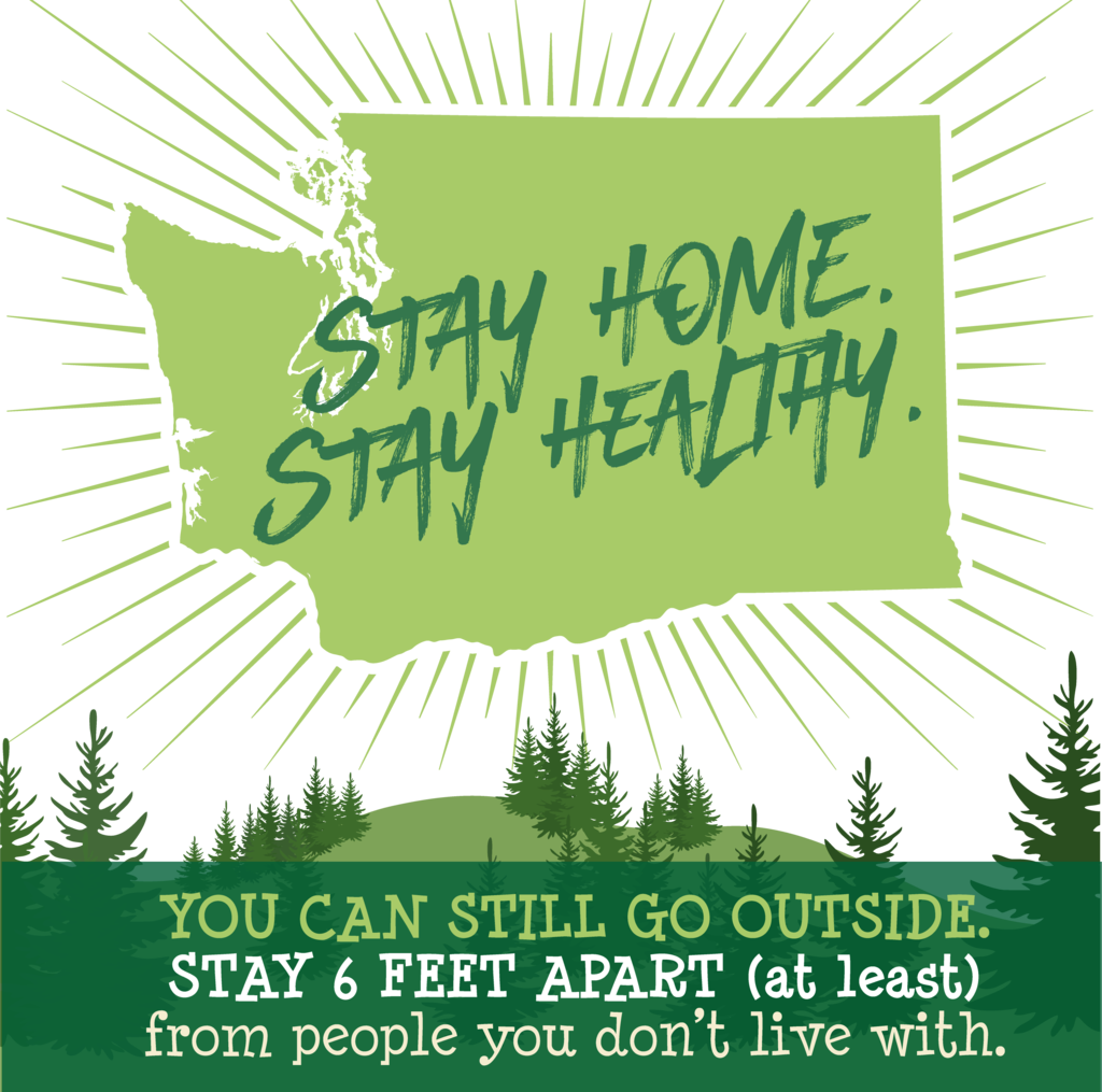 Stay Home, Stay Healthy - Go Outside