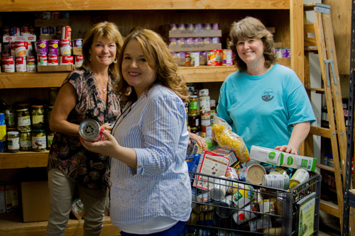 Thanks to partnerships, donations, and volunteers, the Woodland Public Schools Food Pantry Program has provided nearly 5,000 food and necessity items to families-in-need since the program's inception in February 2017.