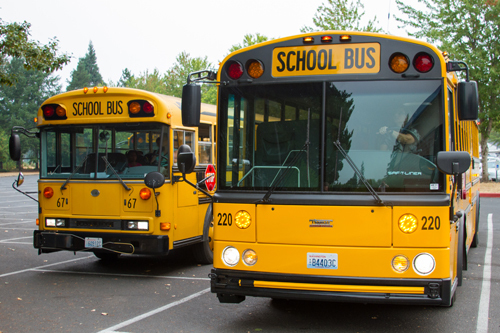 By working together, the four school districts receive better transportation options while saving taxpayer money for use in schools and classrooms when compared to running their own independent transportation programs.