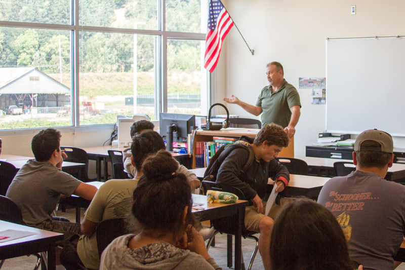 Keith Clevenger, WHS Math & Science teacher, has taught summer school for four consecutive years