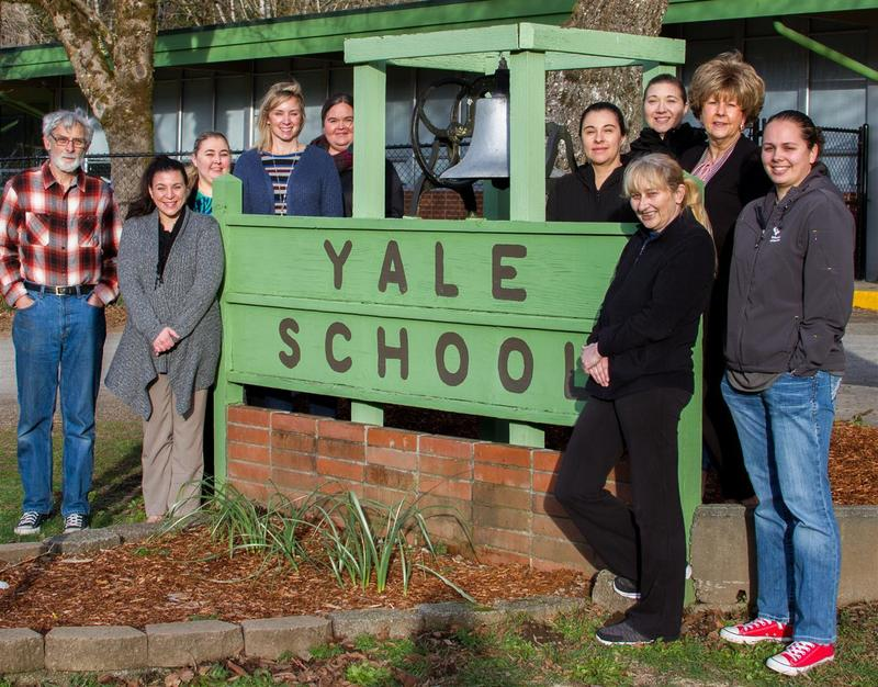 Yale's staff agrees that teamwork is one of the keys to the school's success