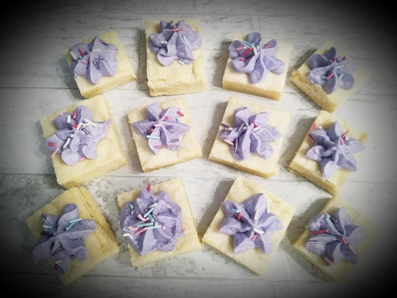 Dakota Wilcox's decorated Sugar Cookie Bars