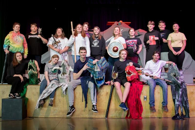 "WHS's Drama Club proudly presents ""She Kills Monsters"""