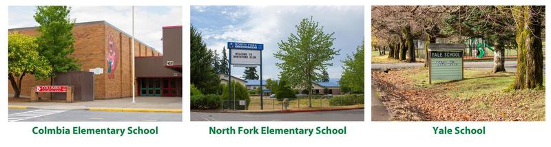 Woodland Public Schools' Elementary Schools - Columbia, North Fork, and Yale